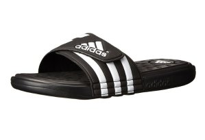 adidas Men's Adissage SC Slide Sandal, black size 13