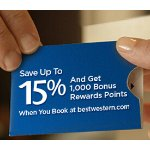 Best Western Rewards Offer