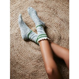 Laweson Ruffle Boot Sock at Free People Clothing Boutique