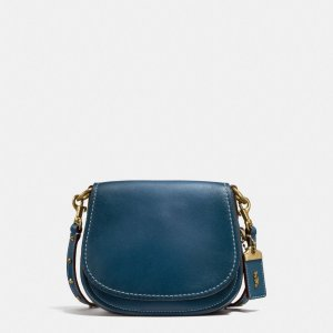 COACH: Saddle Bag 17 In Glovetanned Leather