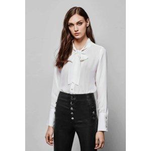 Delorna Top in Ivory | Designer Tops For Women | J Brand
