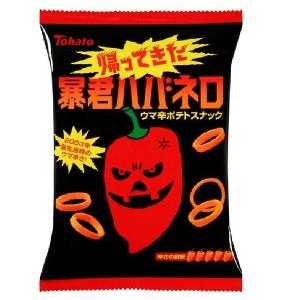 Tohato Spicy Potato Rings