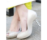 Melissa Shoes Pearl + Karl Lagerfeld Beige - 6pm.com