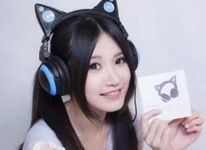 2016 Black Friday! $69.99 Brookstone Cat Ears Headphones Non-Bluetooth