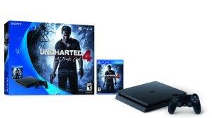 $216.61 PS4 Slim 500GB Uncharted 4 Bundle