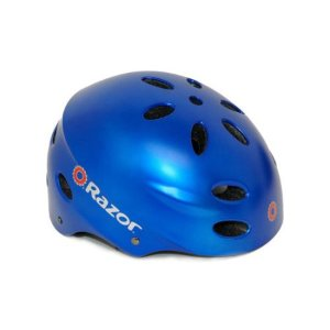 Razor V17 Satin Blue Bike Helmet, Youth