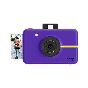 Polaroid Snap Instant Digital Camera (Purple) with ZINK Zero Ink Printing Technology | Jet.com