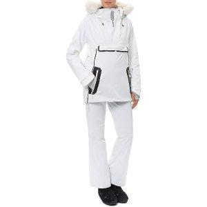 Uphill Ski Parka - white | jackets | Sweaty Betty