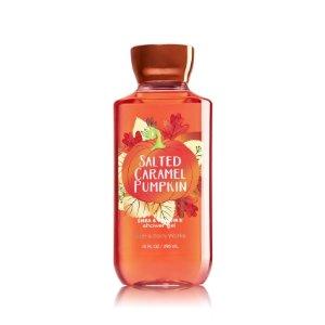 Salted Caramel Pumpkin Shower Gel - Signature Collection - Bath & Body Works