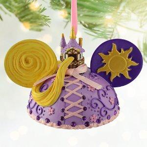 Rapunzel Ear Hat Ornament | Disney Store