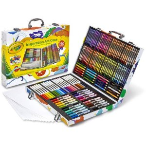 $18.99 Crayola Premier Inspiration Art Case, 140 Pieces