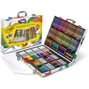 $18.75 Crayola Premier Inspiration Art Case, 140 Pieces