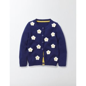 Floral Cardigan 30128 Knitted Cardigans at Boden