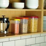 Joseph Joseph 81020 Nest Storage Tall Plastic Food Storage Containers Set , Multicolored