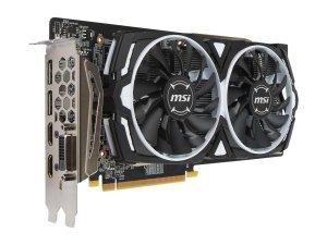 $159.99MSI Radeon RX 480 ARMOR 4G OC Video Card
