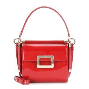 Roger Vivier - Miss Viv' Carré patent leather shoulder bag
