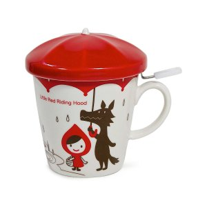 Miya Company Red Riding Hood Mug & Strainer | zulily