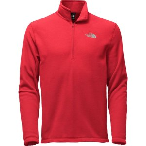 The North Face TKA 100 Microvelour Glacier 1/4-Zip Top - Men's | Backcountry.com