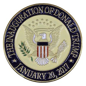 Donald Trump 2017 Presidential Inauguration Seal Lapel Pin/Hat Tac: Jewelry