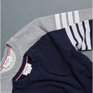 Thom Browne Bar Striped Sweatpants
