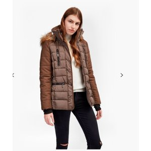 Faux Wool Anorak Belted Down Coat | Jackets | French Connection Usa