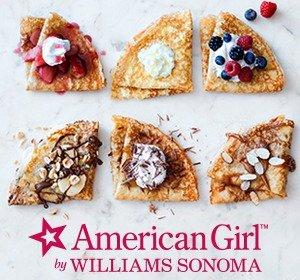 $30Junior Chef Classes: American Girl™: Valentine's Day Crepe Party @ Williams Sonoma