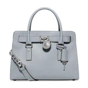 MICHAEL Michael Kors Large Saffiano Hamilton East West Satchel - Deals of the Day - Handbags & Accessories - Macy's