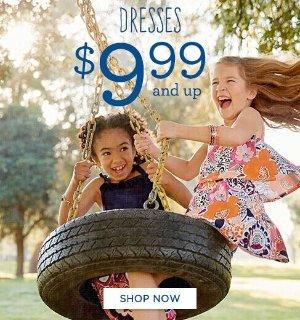 As Low as $9.99 Dress Sale @ Gymboree