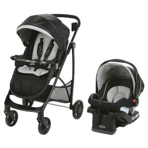 Graco Views Stroller Travel System with SnugRide 35 LX Infant Car Seat - Frankie - Graco - Babies