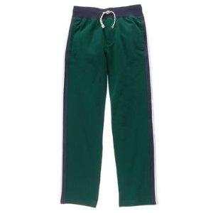 Boys Pine Green Fleece Sweatpants by Gymboree
