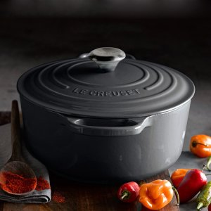 Extra 20% OffLe Creuset Anchor Grey Cookware @ Williams Sonoma