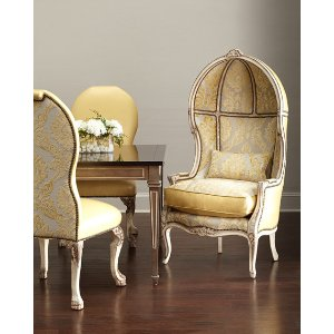 Old Hickory Tannery Devine Leather Side Chair & Balloon Chair