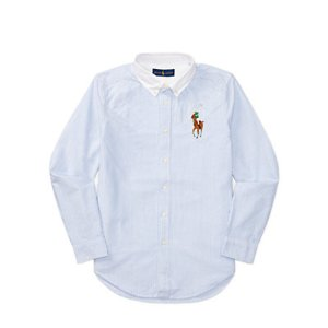 Long Sleeve Oxford Rugby - Long Sleeve � Casual Shirts - RalphLauren.com