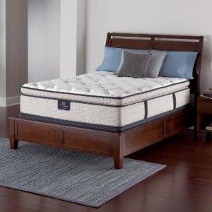 Serta Perfect Sleeper Castleview Cushion Firm Pillowtop Queen Mattress Set - Sam's Club