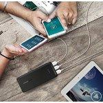 Portable Chargers RAVPower 22000mAh Battery Pack 5.8A Output 3-Port Power Bank (2.4A Input, Triple iSmart 2.0 USB Ports, Li-polymer Battery)