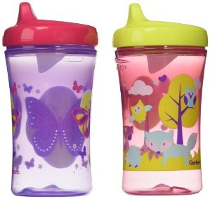 $6.26 Gerber Graduates Advance Developmental Hard Spout Sippy Cup in Assorted Colors-2 Pack, 10-Ounce