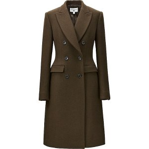 WOMEN CARINE WOOL BLEND COAT | UNIQLO US