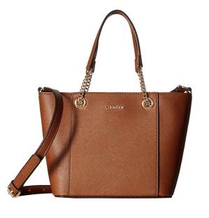 Calvin Klein Saffiano Mini Crossbody Bag
