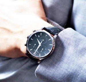 $287.70 Tissot Men's Charcoal Stainless Steel Bracelet Watch
