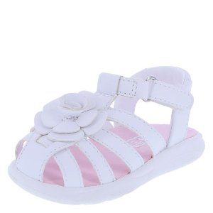 Girls Infant Gigi Flower Sandal | Teeny Toes | Payless Shoes