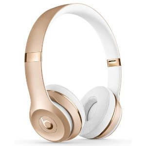 Beats by Dr. Dre Gold Beats Solo 3 无线耳机