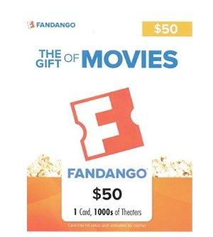 $40.00闪购!价值 $50 Fandango 礼卡
