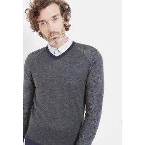 Merino wool sweater - Gray Marl   Sweaters   Ted Baker