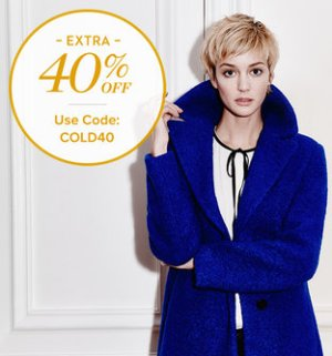 Up to 70% Off + Up to Extra 40% OffDesigner Outerwear @Gilt