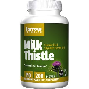 Jarrow Formulas Milk Thistle -- 150 mg - 200 Veggie Caps