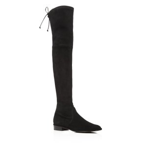 Stuart Weitzman Lowland Stretch Flat Over The Knee Boots | Bloomingdale's
