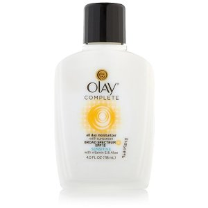 Olay Complete All Day Moisturizer With Sunscreen Broad Spectrum SPF 15 - Sensitive, 4 fl. Oz.: Beauty