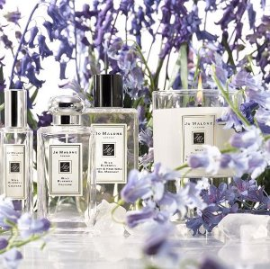 Get two deluxe samples of English Pear & Freesia and Peony & Blush Suede Deluxe Body CrèmeWith any $65 purchase @ Jo Malone London