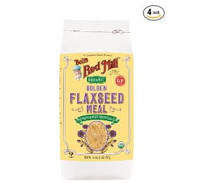 $10.76Bob's Red Mill Organic Golden Flaxseed Meal, 16 Ounce (Pack of 4) (Package May Vary)