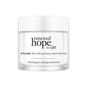 philosophy renewed hope in a jar for all skin types   Nordstrom